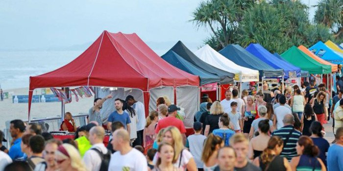 Enjoy the Beachfront Markets with Our Surfers Paradise